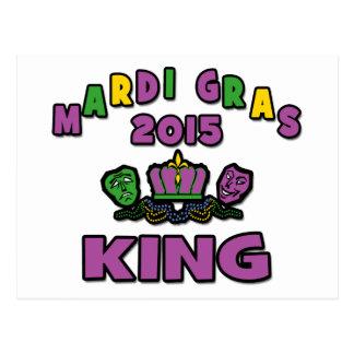 Karneval-König 2015 Postkarte