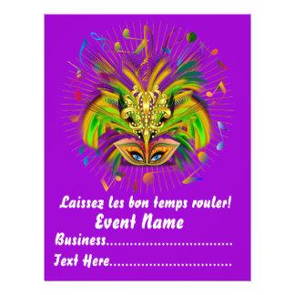 """Karneval-Königin 8,5"""" x 11"""" Ansicht-Anmerkungen 21,6 X 27,9 Cm Flyer"""