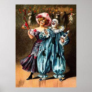 Karneval: Lustige Kameraden Poster