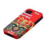 Karneval-Mythologiebacchus-Ansicht deutet bitte an Case-Mate iPhone 4 Hülle