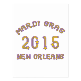 Karneval New Orleans 2015 Postkarte