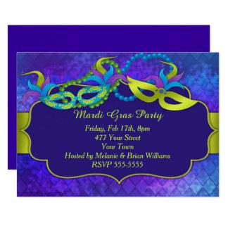 Karneval-Party Karte