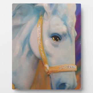 Karneval-Pferd Fotoplatte