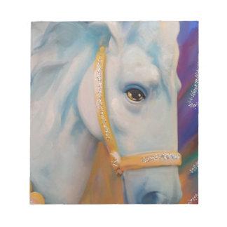 Karneval-Pferd Notizblock