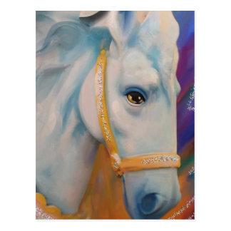 Karneval-Pferd Postkarte