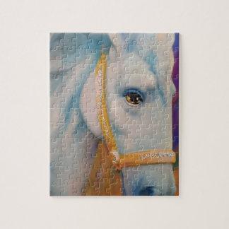Karneval-Pferd Puzzle