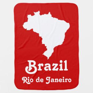Karneval rotes festliches Brasilien mit Puckdecke