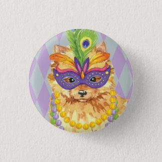 Karneval-Spitz Runder Button 3,2 Cm