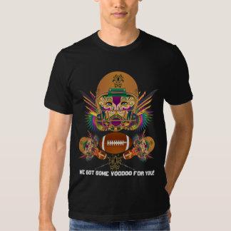 Karneval-Voodoo-Quarterback sehen bitte Shirt