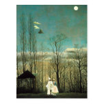Karnevals-Abends-Postkarte Henri Rousseau