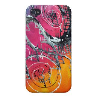 Karnevals-abstrakte Kunst iPhone 4 Hülle