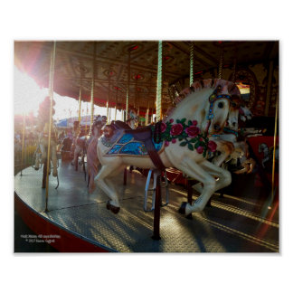 Karnevals-angemessenes Karussell Poster