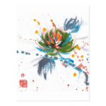 Karnevals-Chrysantheme Postkarten