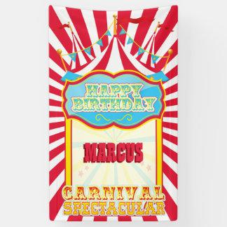 Karnevals-Geburtstags-Party Banner