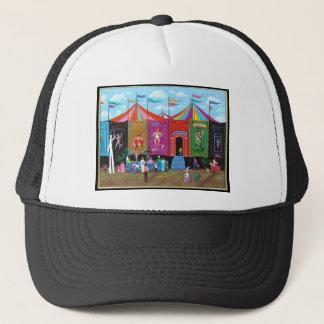 Karnevals-Nebenaufführung Truckerkappe