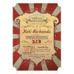 Karnevalsgeburtstags-Party Einladungen 12,7 X 17,8 Cm Einladungskarte