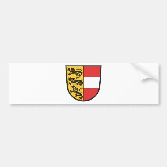 Kärnten Wappen Autoaufkleber