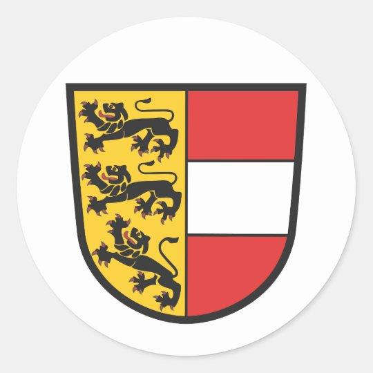 Kärnten Wappen Runder Aufkleber