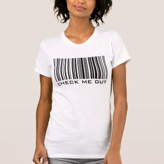 Karo ich heraus - Barcode - T - Shirt