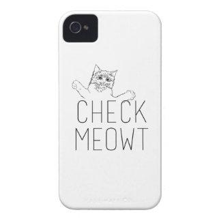 KARO MEOWT - Katzen-Spaß iPhone 4 Case-Mate Hüllen
