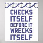 Karo sich, bevor Sie Ihre DNA-Genetik ruinieren Poster