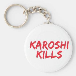Karoshi Tötungen Schlüsselanhänger