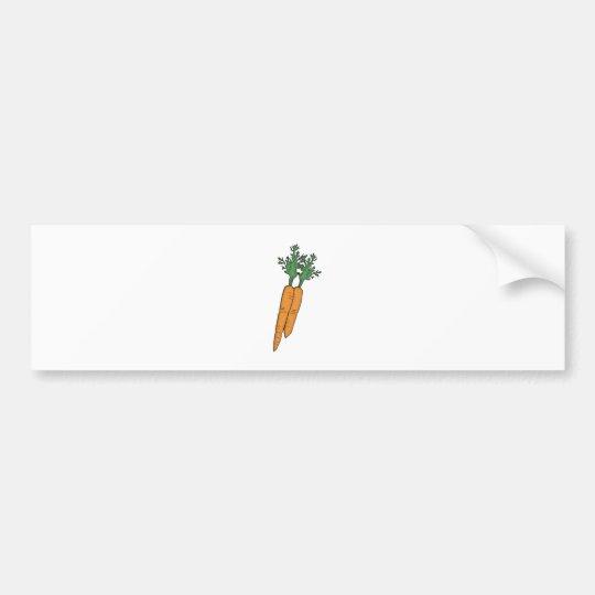 Karotten carrots autoaufkleber