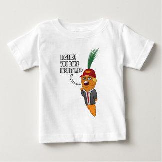 Karotten-Dämon-Trumpf Baby T-shirt