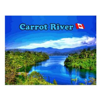 Karotten-Fluss SK-Postkarte - schöner Fluss Postkarte