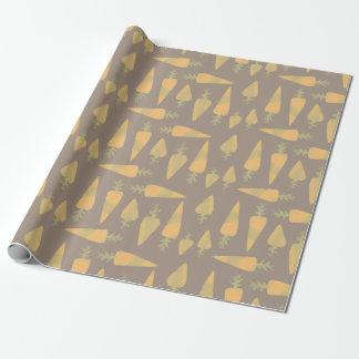 Karotten-Packpapier Geschenkpapier