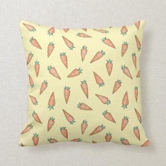 Karotten-Süssen Kissen