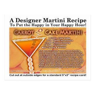 Karottenkuchen-Martini-Rezept-Postkarte