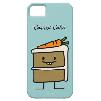 Karottenkuchenscheibe-Häschenzähne, die Nachtisch iPhone 5 Schutzhülle