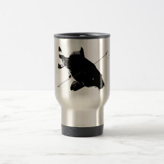Karpfen Bowfishing Reise-Tasse Edelstahl Thermotasse