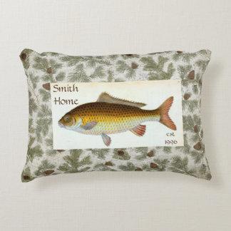 Karpfen-Fische Pinecones Wurfs-Kissen Zierkissen