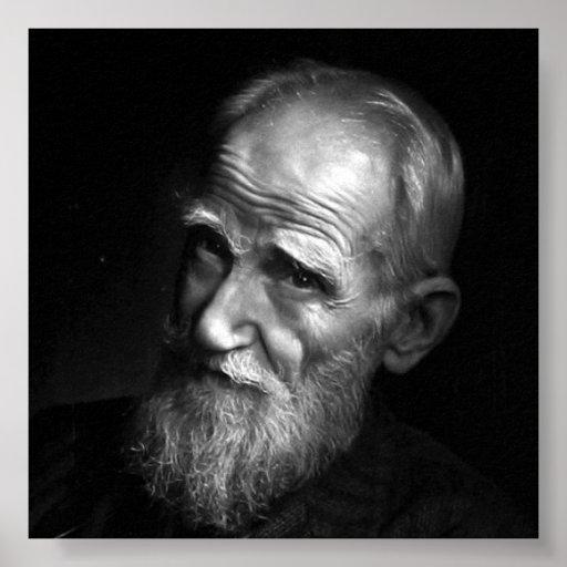 Karsh Fotografie von George <b>Bernard Shaw</b> (1943) Poster - karsh_fotografie_von_george_bernard_shaw_1943_poster-r353e75825fe14df39988f1a4db27fc25_w2y_8byvr_512