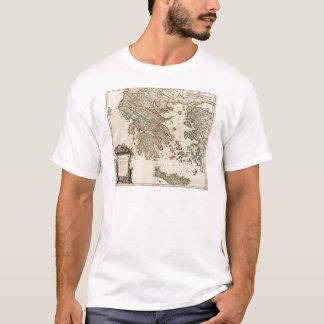 Karte 1752 von altem Griechenland T-Shirt
