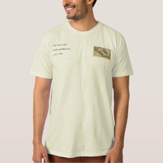 Karte 1790 der Antillen durch Dilly und Robinson T-Shirt