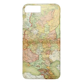 Karte 1928 von der alten Sowjetunion UDSSR iPhone 8 Plus/7 Plus Hülle