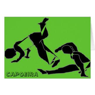 Karte capoeira Kampfkunst-Parabengeburtstag