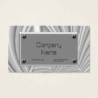 Karte Chrome Silver Grey Metal Look Company