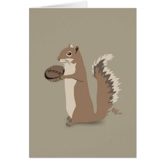 Karte der Eichhörnchen-Mutter Tages