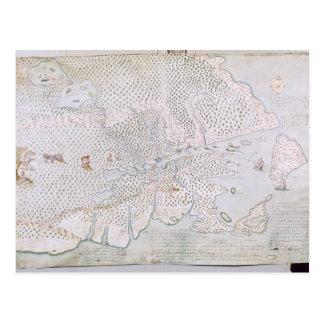 Karte der Mündung 2 St. Lawrence