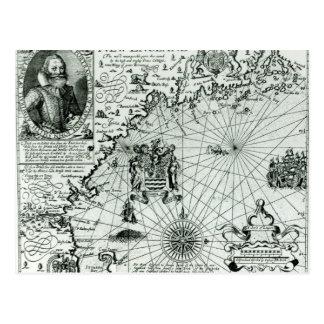 Karte der Neu-England Küstenlinie