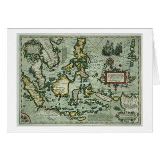 Karte der Ostinseln, Kneipe. 1635 in Amsterdam (ha