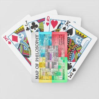 Karte der Philosophie-Spielkarten
