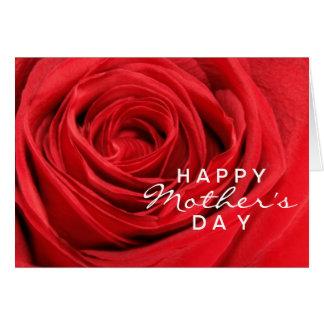 Karte der Rosen-Mutter Tages