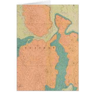 Karte der Uinkaret Hochebene