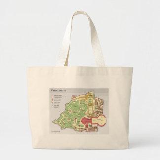 Karte der Vatikanstadt Vatikanstadt-Diagramm Einkaufstasche