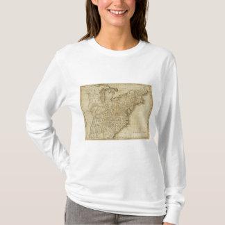 Karte der Vereinigten Staaten 3 T-Shirt
